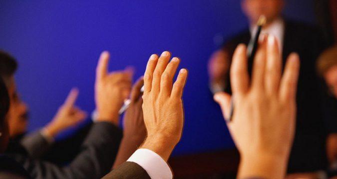 Голосування лебединських районних депутатів