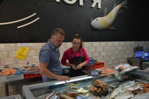 Побачити рибний світ можна у  «Дарах  моря»