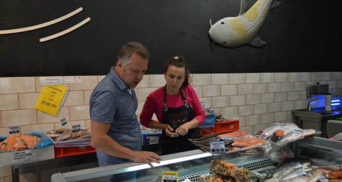 Лебединський магазин Дари моря