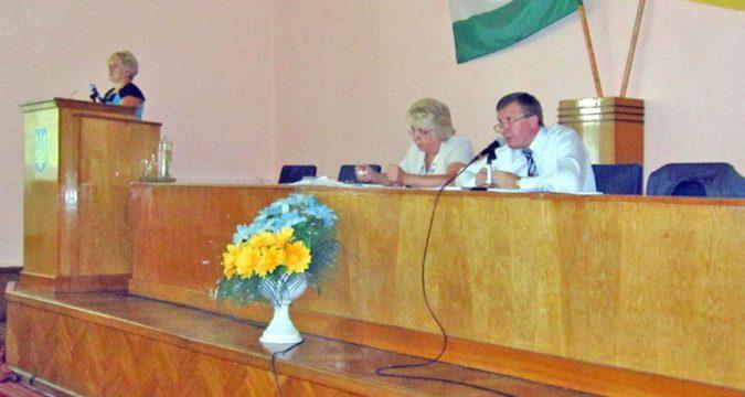 засідання сесії Лебединської районної ради