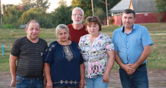 родини підпопригорівських Героїв