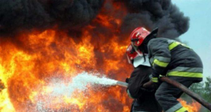 Пожежа у Кургані