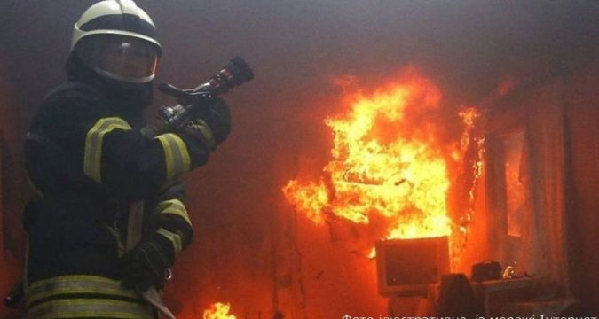 Пожежа на Лебединщині