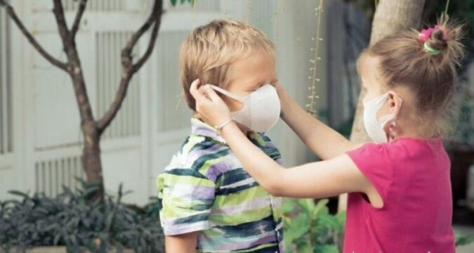 Лебединські діти захищаються від коронавірусу