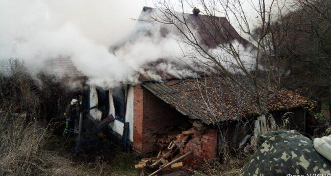 пожежа 18 ДПРЧ Лебедин